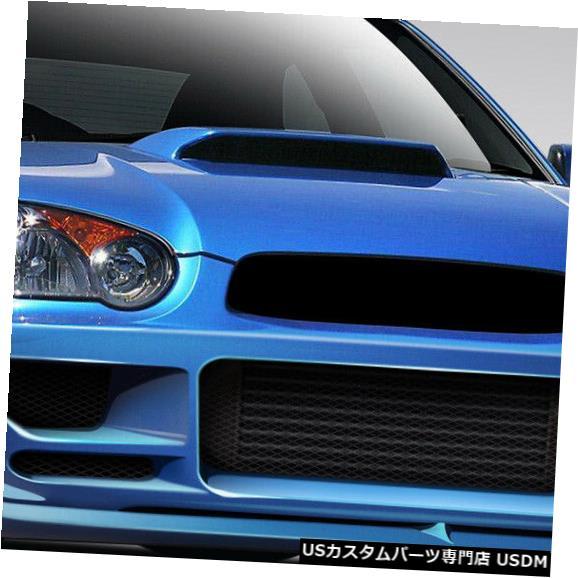 Front Body Kit Bumper 04-05スバルインプレッサハーモンデュラフレックスフロントボディキットバンパー!!! 109026 04-05 Subaru Impreza Harmon Duraflex Front Body Kit Bumper!!! 109026