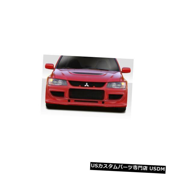 Front Body Kit Bumper 03-06三菱エボリューションVRSデュラフレックスフロントボディキットバンパー 115720 03-06 Mitsubishi Evolution VRS Duraflex Front Body Kit Bum