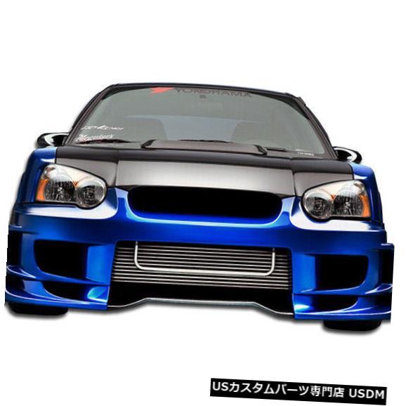 2021激安通販 Front Body Kit Bumper 04-05スバルインプレッサ4DR C-GTデュラフレックスフロントワイドボディキットバンパー!!! 105431 04-05 Subaru Impreza 4DR C-GT Duraflex Front Wide Body Kit Bumper!!! 105431, TYG dd08f21f