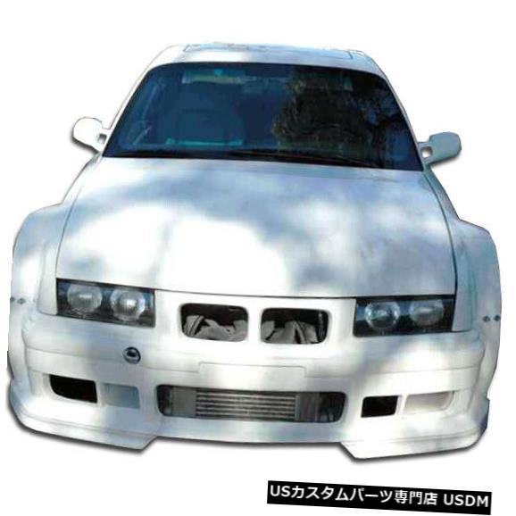 Front Body Kit Bumper 92-98 BMW 3シリーズ2DR GT500 Duraflexフロントワイドボディキットバンパー!!! 105335 92-98 BMW 3 Series 2DR GT500 Duraflex Front Wide Body Kit Bumper!!! 105335