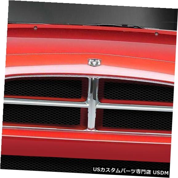 Front Body Kit Bumper 06-10ダッジチャージャーRK-S Duraflexフロントボディキットバンパー!!! 108780 06-10 Dodge Charger RK-S Duraflex Front Body Kit Bumper!!! 108780