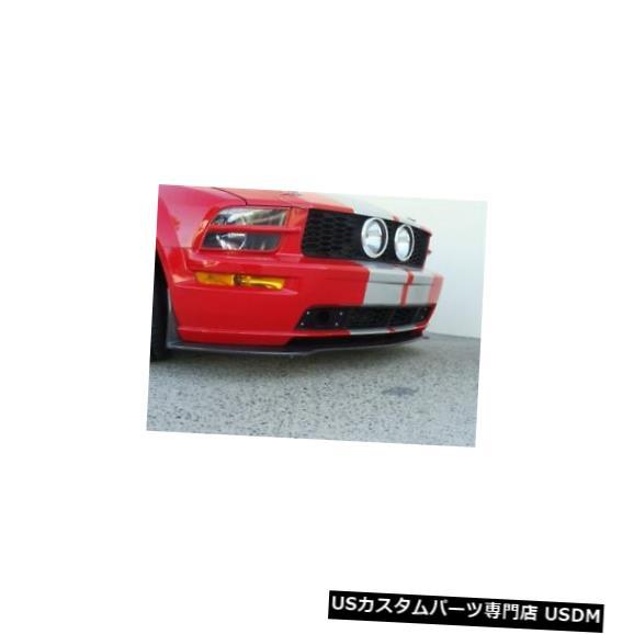 Front Body Kit Bumper 05-09フォードマスタングGTカーボンファイバーLG31フロントバンパーリップボディキット!! TC10024-LG31 05-09 Ford Mustang GT Carbon Fiber LG31 Front Bumper Lip Body Kit!! TC10024-LG31