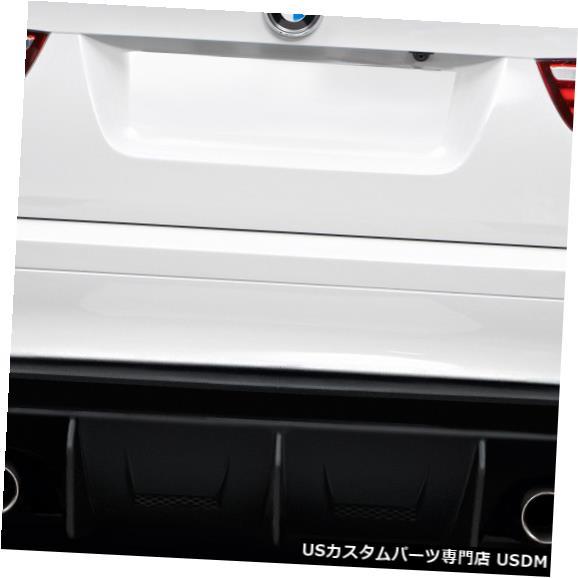 Rear Bumper 08-14 BMW X6M AK-M Duraflexリアバンパーディフューザー/リップボディキット!!! 114517 08-14 BMW X6M AK-M Duraflex Rear Bumper Diffuser/Lip Body Kit!!! 114517