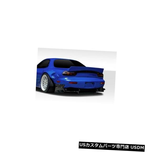 Rear Bumper 93-97マツダRX7 TKOボスデュラフレックス9個リアバンパーディフューザーボディキット!!! 114869 93-97 Mazda RX7 TKO Boss Duraflex 9 Pcs Rear Bumper Diffuser Body Kit!!! 114869