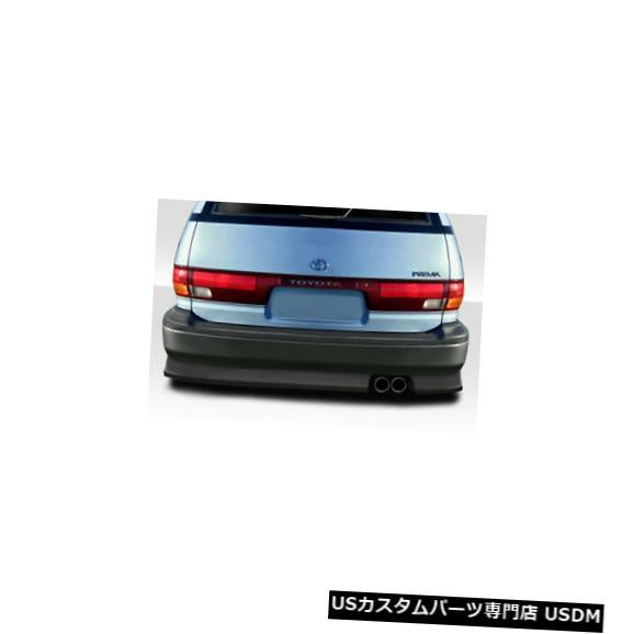 Rear Bumper 91-97トヨタPrevia FAB Duraflexリアボディキットバンパー!!! 114781 91-97 Toyota Previa FAB Duraflex Rear Body Kit Bumper!!! 114781