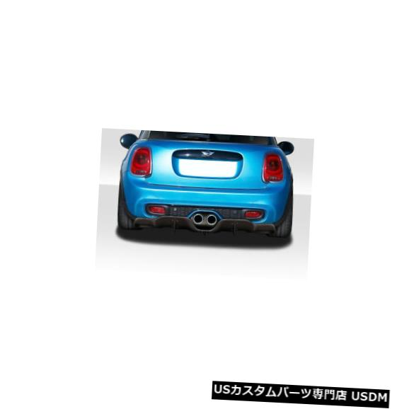 Rear Bumper 14-20 MINI Cooper DLR Duraflexリアバンパーディフューザーボディキット!!! 115731 14-20 MINI Cooper DLR Duraflex Rear Bumper Diffuser Body Kit!!! 115731