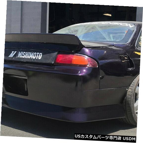 Rear Bumper 95-98は日産240SX DM3スタイルKBDウレタンリアボディキットバンパーに適合!!! 37-6079 95-98 Fits Nissan 240SX DM3 Style KBD Urethane Rear Body Kit Bumper!!! 37-6079