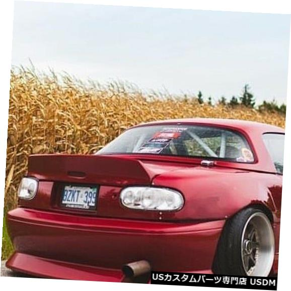 Rear Bumper 90-97マツダミアータデューススタイルKBDウレタンリアボディキットバンパー!!! 37-6071 90-97 Mazda Miata Deuce Style KBD Urethane Rear Body Kit Bumper!!! 37-6071