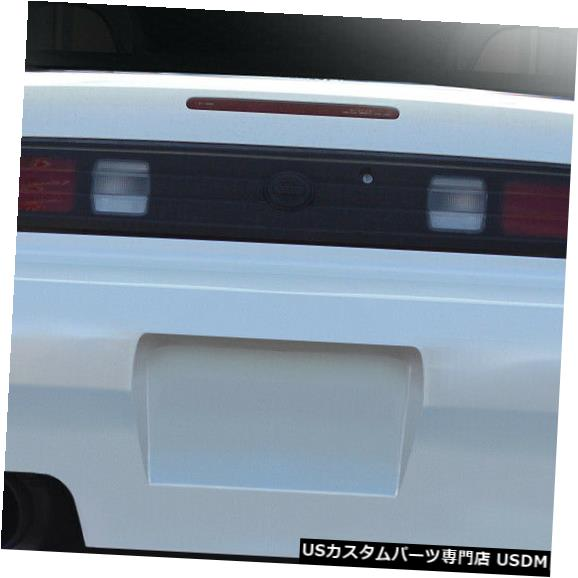 Rear Bumper 95-98は日産240SX RBS V1 Duraflexリアボディキットバンパーに適合!!! 113856 95-98 Fits Nissan 240SX RBS V1 Duraflex Rear Body Kit Bumper!!! 113856