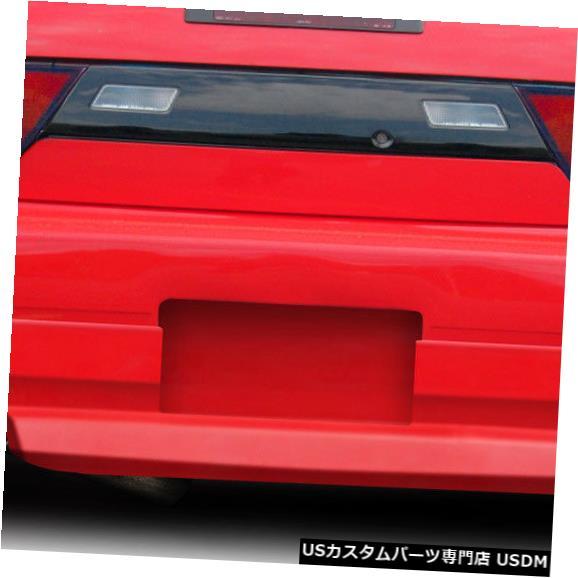 Rear Bumper 89-94は日産240SXなめらかなDuraflexリアボディキットバンパーに適合!!! 114592 89-94 Fits Nissan 240SX Sleek Duraflex Rear Body Kit Bumper!!! 114592