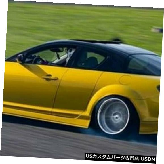 Rear Bumper 04-08マツダRX8 MSスタイルKBDウレタンリアボディキットバンパー!!! 37-2076 04-08 Mazda RX8 MS Style KBD Urethane Rear Body Kit Bumper!!! 37-2076