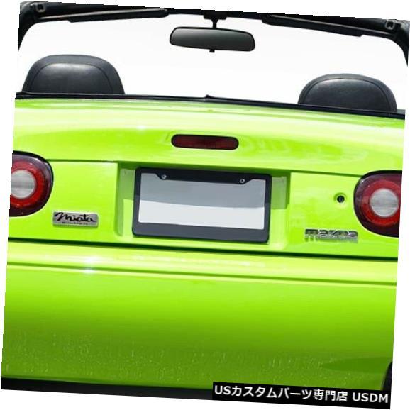 Rear Bumper 90-97マツダミアタWX-9デュラフレックスリアボディキットバンパー!!! 114941 90-97 Mazda Miata WX-9 Duraflex Rear Body Kit Bumper!!! 114941