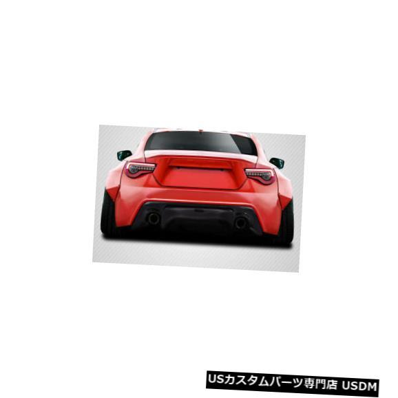 Rear Bumper 13-19 Scion FRS GT500 V3カーボンファイバーリアバンパーディフューザーボディキットに適合! 115564 13-19 Fits Scion FRS GT500 V3 Carbon Fiber Rear Bumper Diffuser Body Kit! 115564
