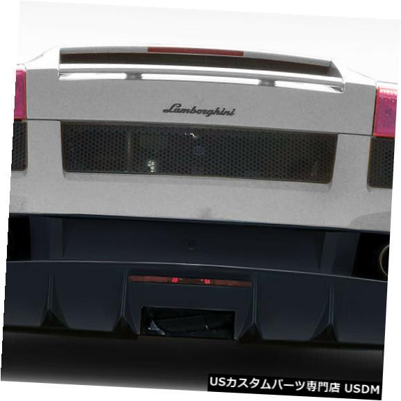 Rear Bumper 04-08ランボルギーニガヤルドLP750スタイルデュラフレックスリアボディキットバンパー!!! 114727 04-08 Lamborghini Gallardo LP750 Style Duraflex Rear Body Kit Bumper!!! 114727