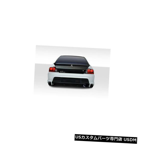 Rear Bumper 03-06三菱ランサーVRSデュラフレックスリアボディキットバンパー!!! 114917 03-06 Mitsubishi Lancer VRS Duraflex Rear Body Kit Bumper!!! 114917