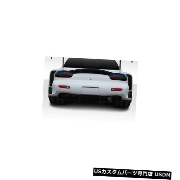 Rear Bumper 93-97マツダRX7 BRS Duraflexリアバンパーアドオンボディキット!!! 114969 93-97 Mazda RX7 BRS Duraflex Rear Bumper Add Ons Body Kit!!! 114969