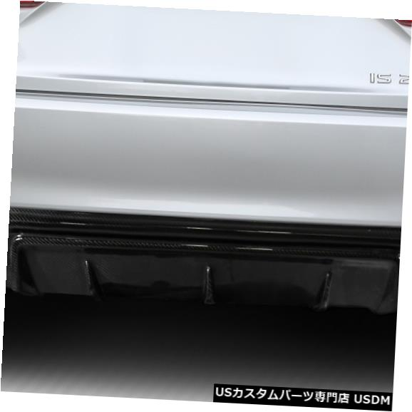 Rear Bumper 14-15レクサスIS AMデザインDriTechカーボンファイバーリアバンパーリップボディキット!!! 112999 14-15 Lexus IS AM Design DriTech Carbon Fiber Rear Bumper Lip Body Kit!!! 112999