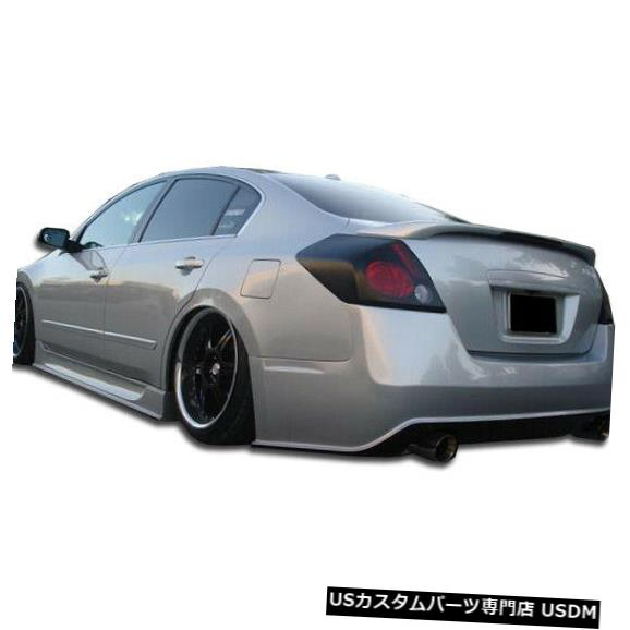Rear Bumper 07-12日産Altima 4DRシグマDuraflexリアボディキットバンパーに適合!!! 105684 07-12 Fits Nissan Altima 4DR Sigma Duraflex Rear Body Kit Bumper!!! 105684
