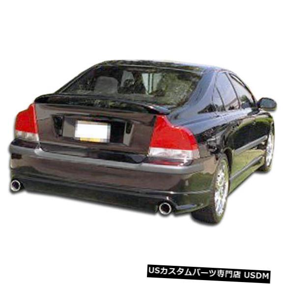 Rear Bumper 01-04ボルボS60スピードゾーンオーバーストックリアバンパーリップボディキット!!! 100287 01-04 Volvo S60 Speedzone Overstock Rear Bumper Lip Body Kit!!! 100287