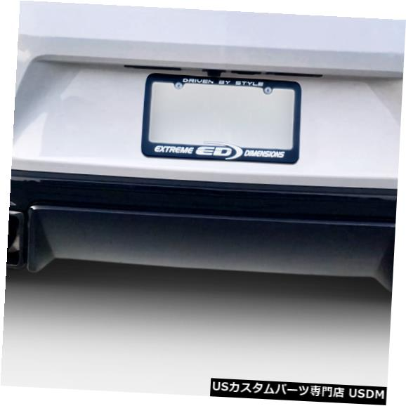Rear Bumper 16-18シボレーカマロGM-Xデュラフレックスリアバンパーリップボディキット!!! 113026 16-18 Chevrolet Camaro GM-X Duraflex Rear Bumper Lip Body Kit!!! 113026