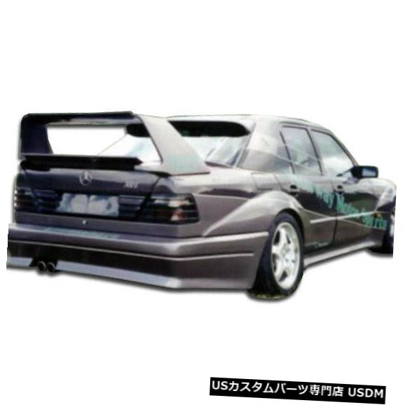 Rear Bumper 86-95メルセデスEクラス4DR EVO 2デュラフレックスリアワイドボディキットバンパー!!! 105377 86-95 Mercedes E Class 4DR EVO 2 Duraflex Rear Wide Body Kit Bumper!!! 105377