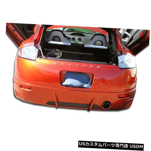 Rear Bumper 06-08三菱エクリプスレーサーデュラフレックスリアバンパーリップボディキット!!! 102274 06-08 Mitsubishi Eclipse Racer Duraflex Rear Bumper Lip Body Kit!!! 102274