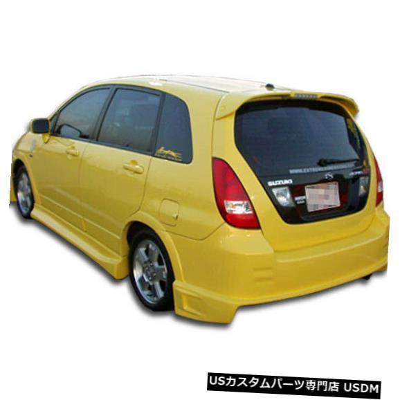 Rear Bumper 03-06スズキエリオHBドリフターデュラフレックスリアボディキットバンパー!!! 100387 03-06 Suzuki Aerio HB Drifter Duraflex Rear Body Kit Bumper!!! 100387