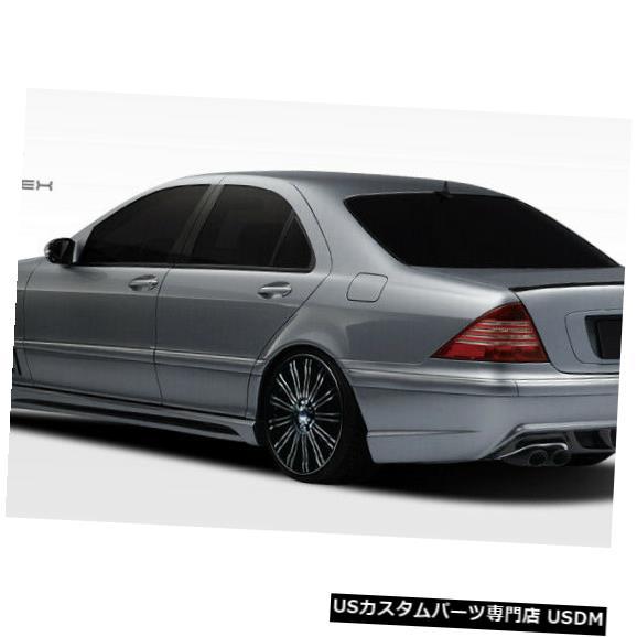 Rear Bumper 00-06メルセデスSクラスW-2デュラフレックスリアボディキットバンパー!!! 107721 00-06 Mercedes S Class W-2 Duraflex Rear Body Kit Bumper!!! 107721