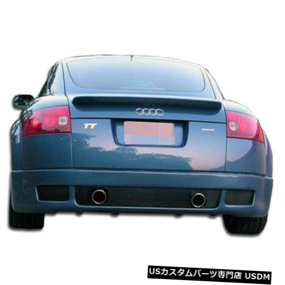 Rear Bumper 00-06アウディTT R-1デュラフレックスリアバンパーリップボディキット!!! 102429 00-06 Audi TT R-1 Duraflex Rear Bumper Lip Body Kit!!! 102429