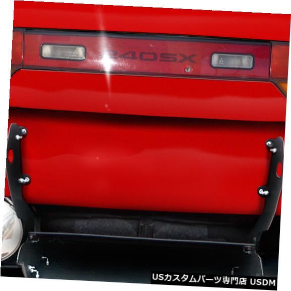Rear Bumper 89-94は日産240SX RBS V3 Duraflexリアバンパーリップボディキットに適合!!! 113874 89-94 Fits Nissan 240SX RBS V3 Duraflex Rear Bumper Lip Body Kit!!! 113874