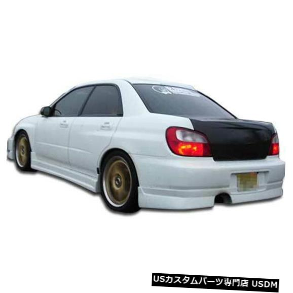 Rear Bumper 02-03スバルインプレッサ4DR C-Speed Duraflexリアバンパーリップボディキット!!! 100390 02-03 Subaru Impreza 4DR C-Speed Duraflex Rear Bumper Lip Body Kit!!! 100390