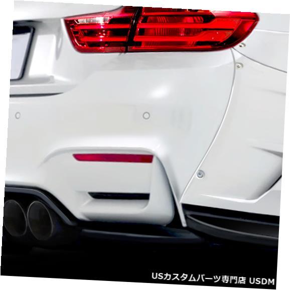 Rear Bumper 14-18 BMW 4シリーズAF-1エアロ機能リアバンパーアドオンボディキット!!! 113588 14-18 BMW 4 Series AF-1 Aero Function Rear Bumper Add On Body Kit!!! 113588