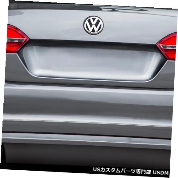 Rear Bumper 11-14フォルクスワーゲンジェッタボルテックスルックデュラフレックスリアバンパーリップボディキット!!! 113723 11-14 Volkswagen Jetta Vortex Look Duraflex Rear Bumper Lip Body Kit!!! 113723