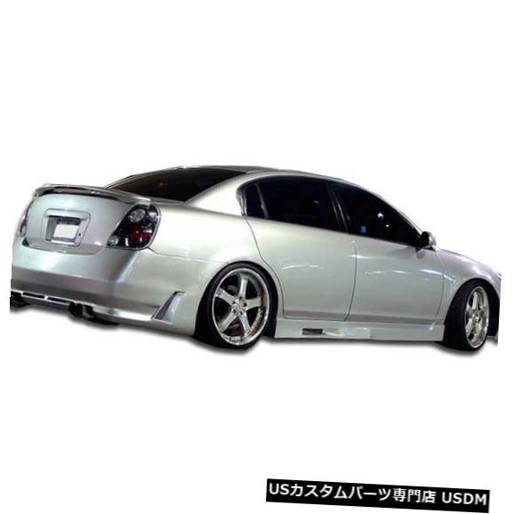 Rear Bumper 02-06日産アルティマサイバーデュラフレックスリアボディキットバンパーに適合!!! 104899 02-06 Fits Nissan Altima Cyber Duraflex Rear Body Kit Bumper!!! 104899