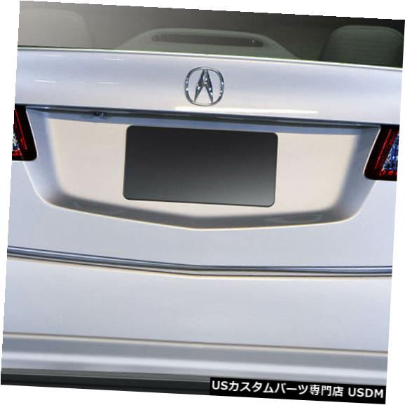 Rear Bumper 09-14 Acura TSX Type M Duraflexリアバンパーリップボディキット!!! 108765 09-14 Acura TSX Type M Duraflex Rear Bumper Lip Body Kit!!! 108765