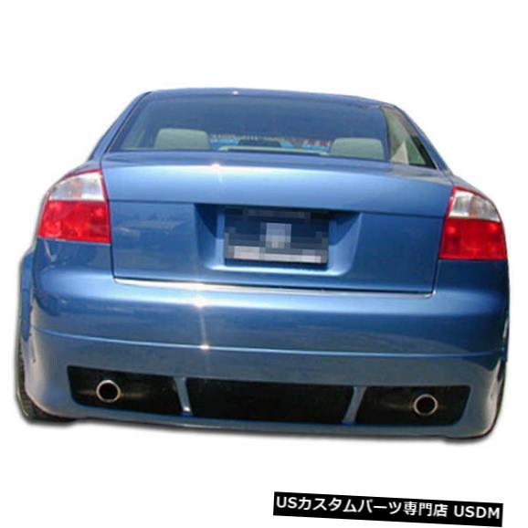 Rear Bumper 02-05 Audi A4 4DR R-1 Duraflexリアバンパーリップボディキット!!! 100289 02-05 Audi A4 4DR R-1 Duraflex Rear Bumper Lip Body Kit!!! 100289