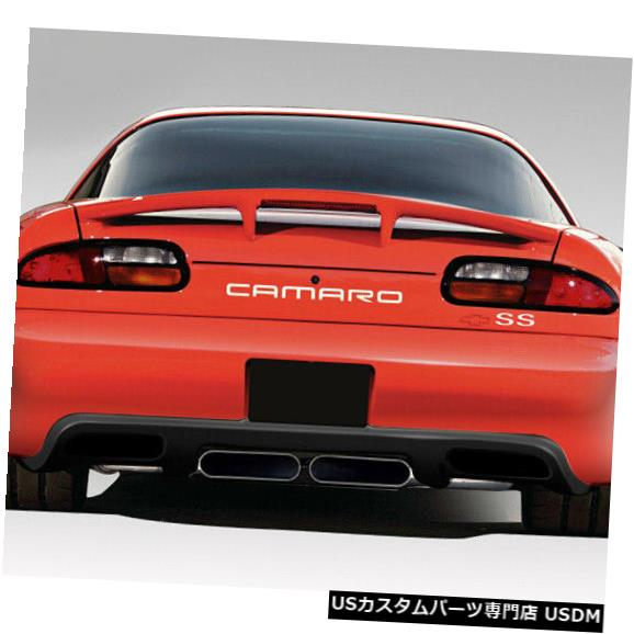Rear Bumper 93-02シボレーカマロZRエディションデュラフレックスリアボディキットバンパー!!! 108842 93-02 Chevrolet Camaro ZR Edition Duraflex Rear Body Kit Bumper!!! 108842