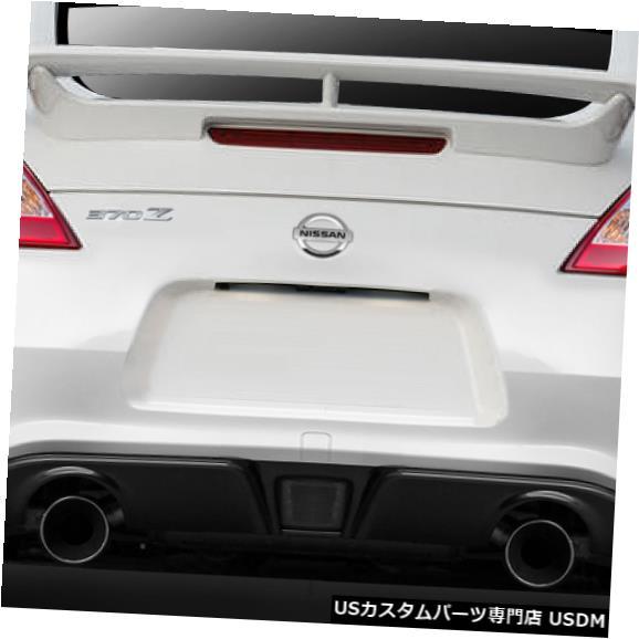 Rear Bumper 09-18日産370Z N-3 Duraflexリアボディキットバンパーに適合!!! 112275 09-18 Fits Nissan 370Z N-3 Duraflex Rear Body Kit Bumper!!! 112275