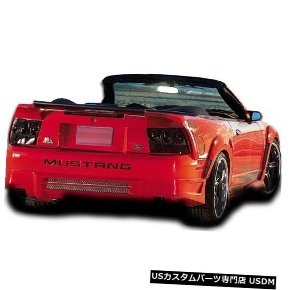 Rear Bumper 99-04フォードマスタングデーモンオーバーストックリアボディキットバンパー!!! 104785 99-04 Ford Mustang Demon Overstock Rear Body Kit Bumper!!! 104785