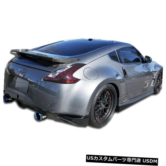 Rear Bumper 09-18日産370Z N-1 Duraflexリアバンパーアドオンボディキットに適合!!! 105907 09-18 Fits Nissan 370Z N-1 Duraflex Rear Bumper Add On Body Kit!!! 105907