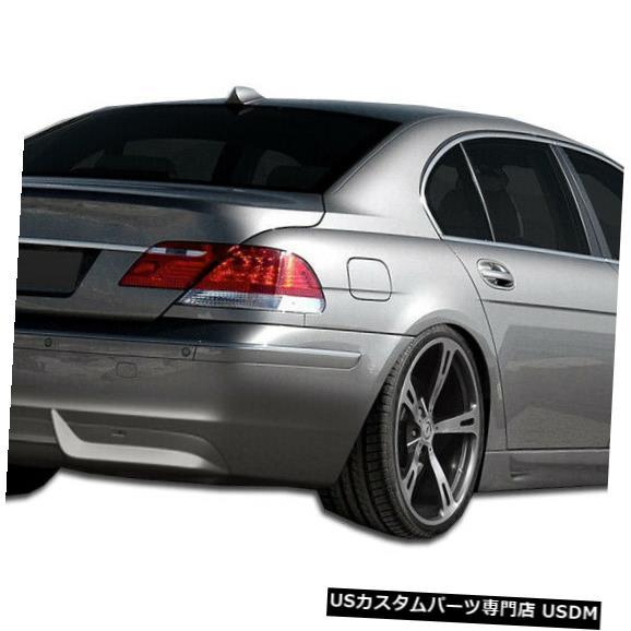 Rear Bumper 06-08 BMW 7シリーズエロスV.1クチュールリアバンパーリップボディキット!!! 106906 06-08 BMW 7 Series Eros V.1 Couture Rear Bumper Lip Body Kit!!! 106906