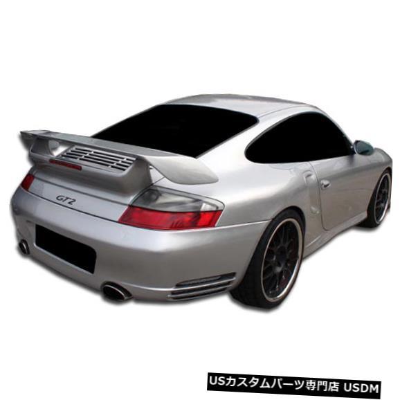 Rear Bumper 02-04ポルシェ996ターボC4S GT-2デュラフレックスリアボディキットバンパー!!! 105115 02-04 Porsche 996 Turbo C4S GT-2 Duraflex Rear Body Kit Bumper!!! 105115