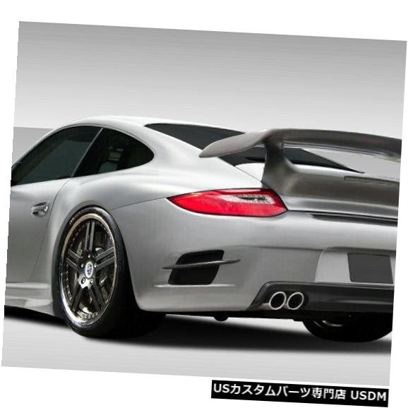 Rear Bumper 09-11ポルシェ997エロスV.2オーバーストックリアボディキットバンパー!!! 107718 09-11 Porsche 997 Eros V.2 Overstock Rear Body Kit Bumper!!! 107718