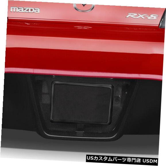 Rear Bumper 04-08マツダRX8 K-2デュラフレックスリアボディキットバンパー!!! 114659 04-08 Mazda RX8 K-2 Duraflex Rear Body Kit Bumper!!! 114659