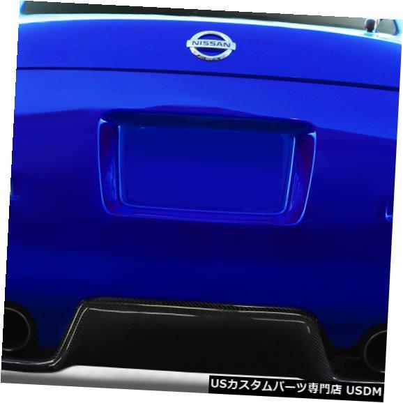 Rear Bumper 03-08日産350Z TS-1カーボンクリエーションズリアバンパーリップボディキットに適合!!! 113088 03-08 Fits Nissan 350Z TS-1 Carbon Creations Rear Bumper Lip Body Kit!!! 113088