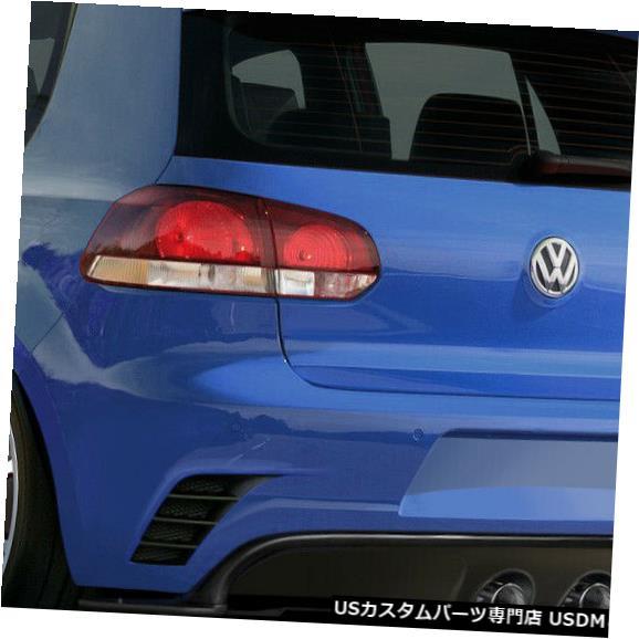 Rear Bumper 10-18フォルクスワーゲンゴルフRV-Sデュラフレックスリアボディキットバンパー!!! 108294 10-18 Volkswagen Golf RV-S Duraflex Rear Body Kit Bumper!!! 108294