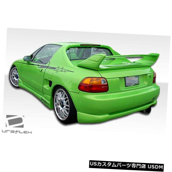 Rear Bumper 93-97ホンダデルソルタイプMデュラフレックスリアバンパーリップボディキット!!! 101252 93-97 Honda Del Sol Type M Duraflex Rear Bumper Lip Body Kit!!! 101252