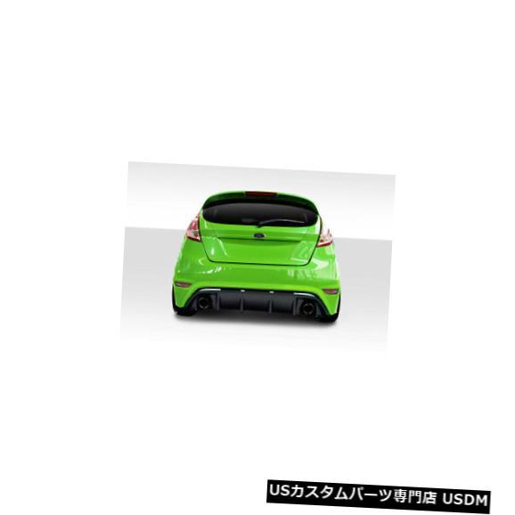 Rear Bumper 14-19フォードフィエスタRSデュラフレックスリアボディキットバンパー!!! 114486 14-19 Ford Fiesta RS Duraflex Rear Body Kit Bumper!!! 114486