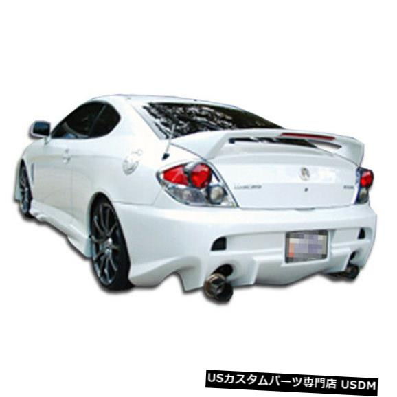 Rear Bumper 03-06ヒュンダイティブロンベイダーデュラフレックスリアボディキットバンパーに適合!!! 100452 03-06 Fits Hyundai Tiburon Vader Duraflex Rear Body Kit Bumper!!! 100452