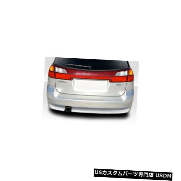 Rear Bumper 00-04スバルレガシィワゴンエレクトリックデュラフレックスリアボディキットバンパーに適合!!! 114777 00-04 Fits Subaru Legacy Wagon Electric Duraflex Rear Body Kit Bumper!!! 114777